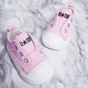 Converse Sneakers- Size 2, Pink